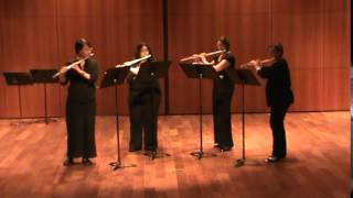 Rialto Ripples by George Gershwin, arr. for flute quartet by Bill Holcombe