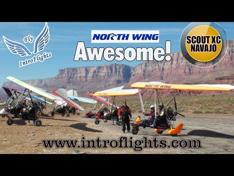 Introflights.com, Las Vegas Nevada, Certified Flight Instruction for North Wing Trikes.