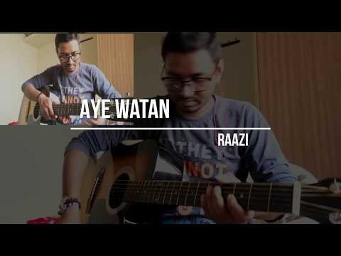 ae-watan-|-raazi-|-acoustic-guitar-cover-|-arijit-singh-|-shankar-ehsaan-loy-|-patriotic-song