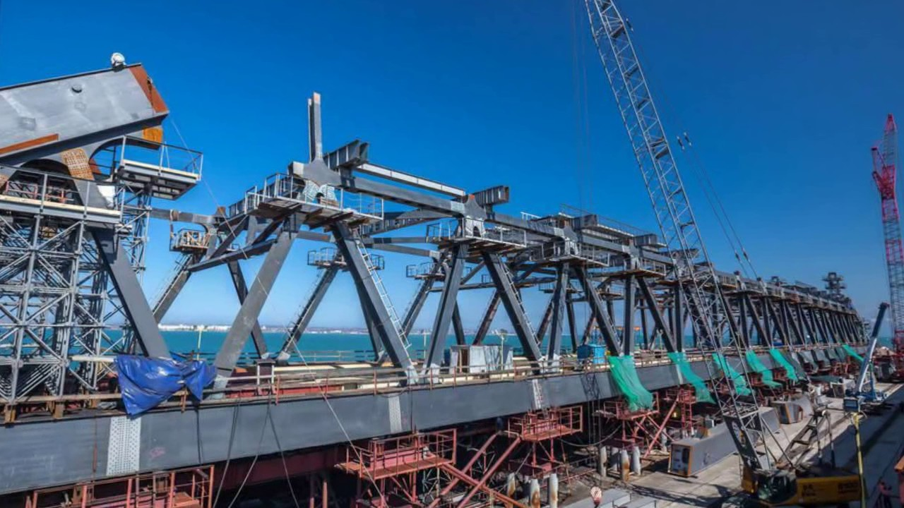 Как идет строительство Крымского моста сегодня