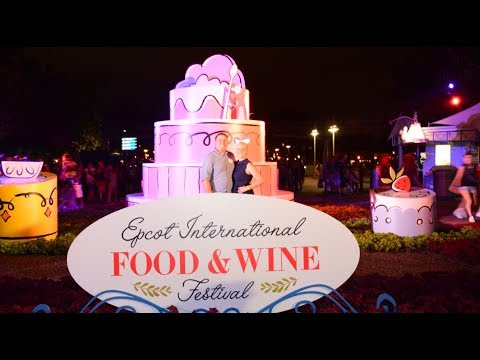 EPCOT International Food And Wine Festival Opening Day 2017 | New Booths And Merchandise