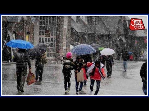 Fresh Snowfall, Rain In Kashmir, Himachal