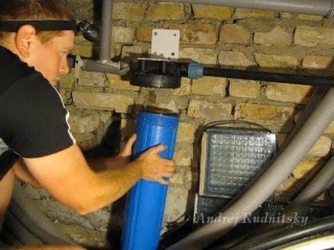 Как заменить фильтр для очистки воды в Гейзер Стандарт самому.Замена фильтра