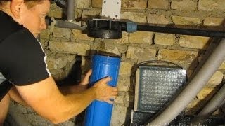 Как заменить картридж механической очистки воды(Замена картриджа механической очистки воды. Мой второ..., 2013-06-10T21:48:19.000Z)