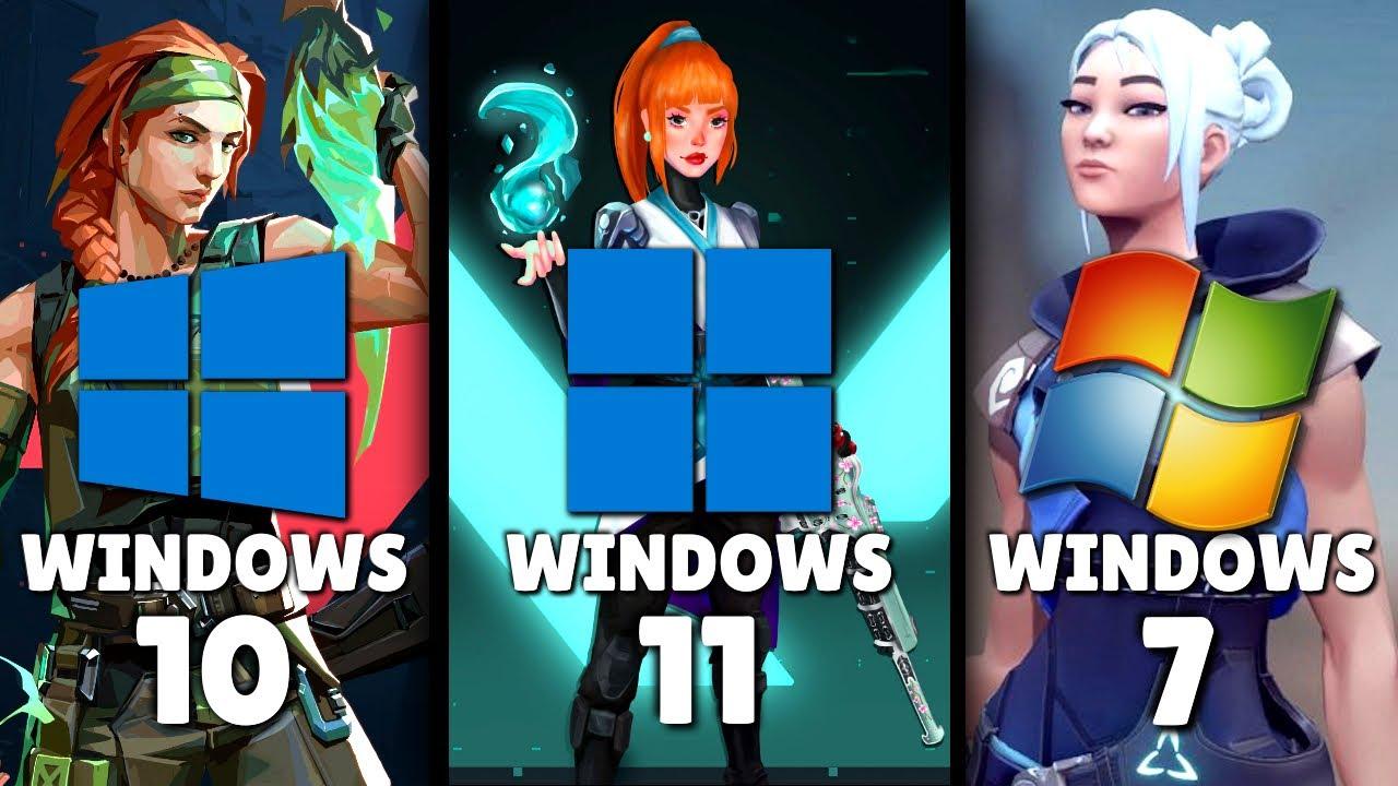Download Windows (11 vs 10 vs 7) | Valorant