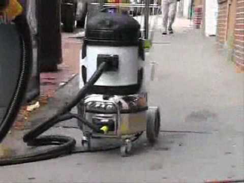 Sidewalk Steam Chewing Gum Removal Machines  Daimer