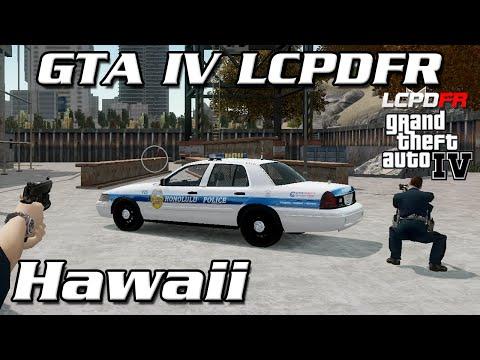 GTA IV LCPDFR MP - Honolulu Police Department (Hawaii)