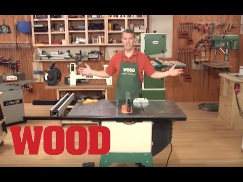 Intro To Woodworking Machines - WOOD Magazine