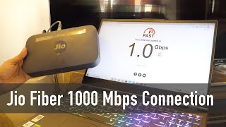 Jio Fiber 1 Gbps Internet Plan Experience and Review