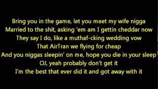 Young Jeezy- OJ (Lyrics On Screen) Ft. Fabolous & Jadakiss