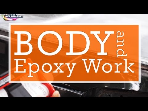 Start Body Work and Epoxy Work for Bumper Lip