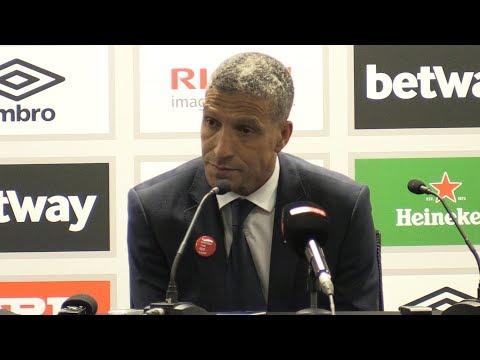 West Ham 0-3 Brighton - Chris Hughton Full Post Match Press Conference - Premier League