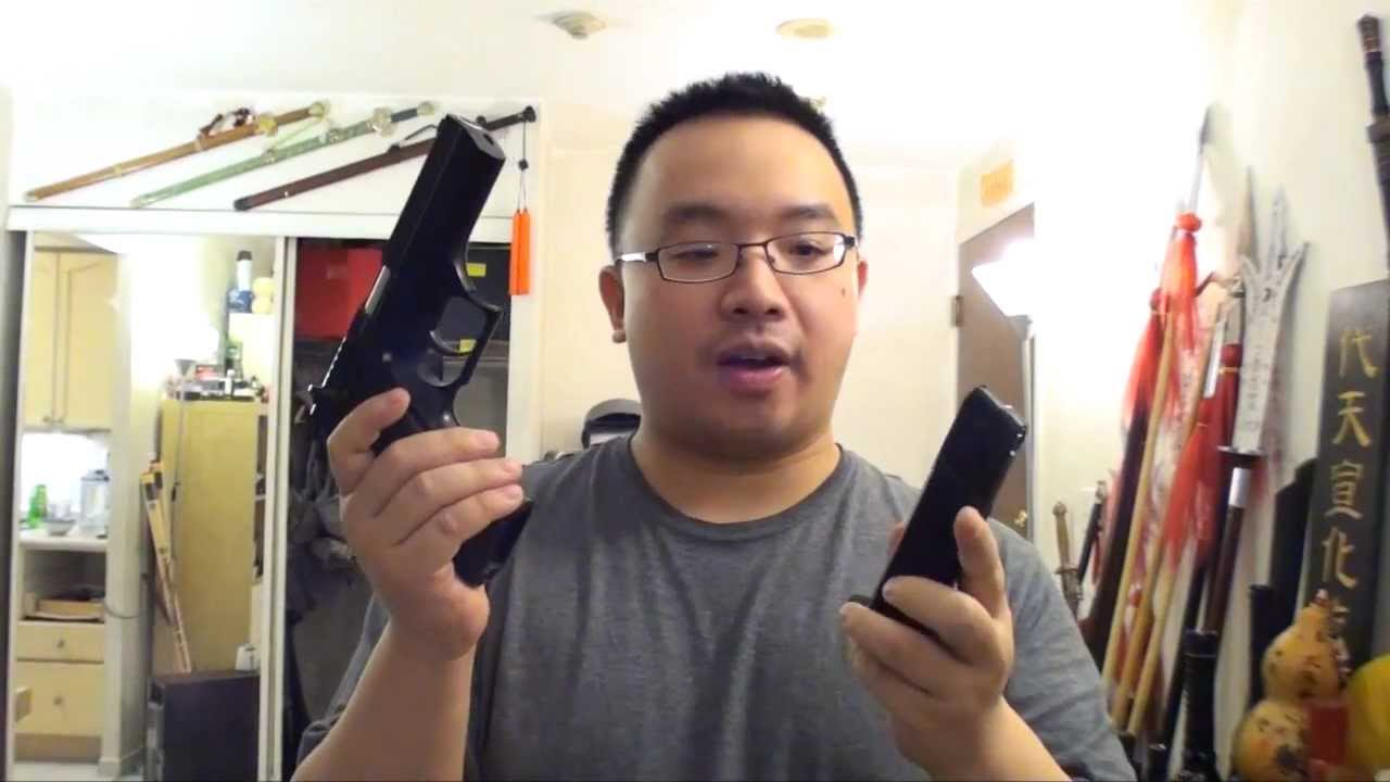 Most Powerful Co2 Air Pistol (4 5mm Airgun) - Jericho 941 by Cybergun