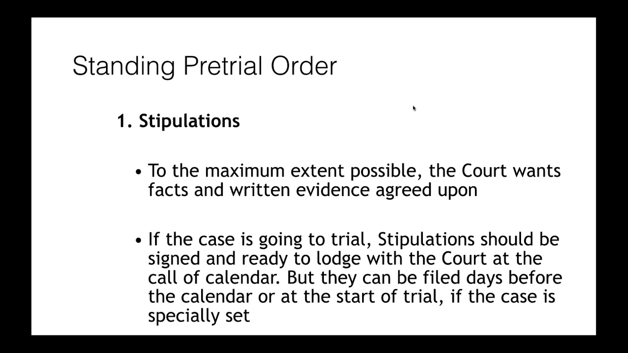 What to Expect at a Tax Court Calendar - YouTube