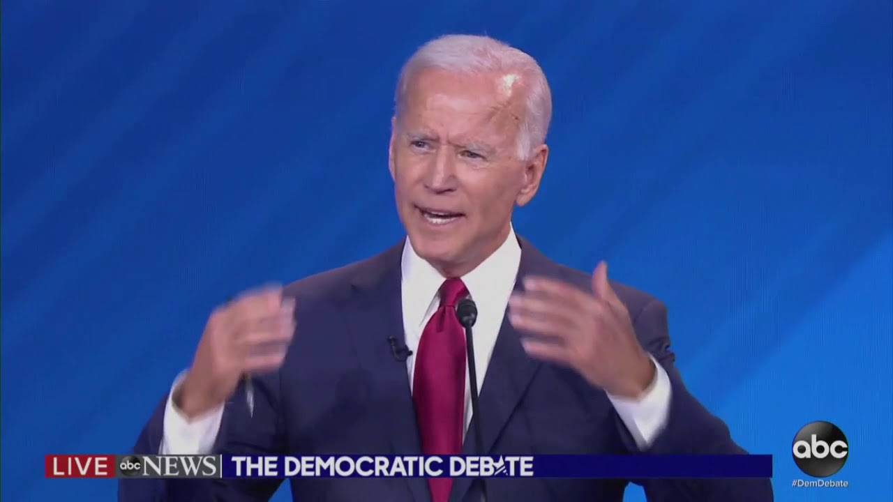 Biden's teeth appear to almost fall out during debate