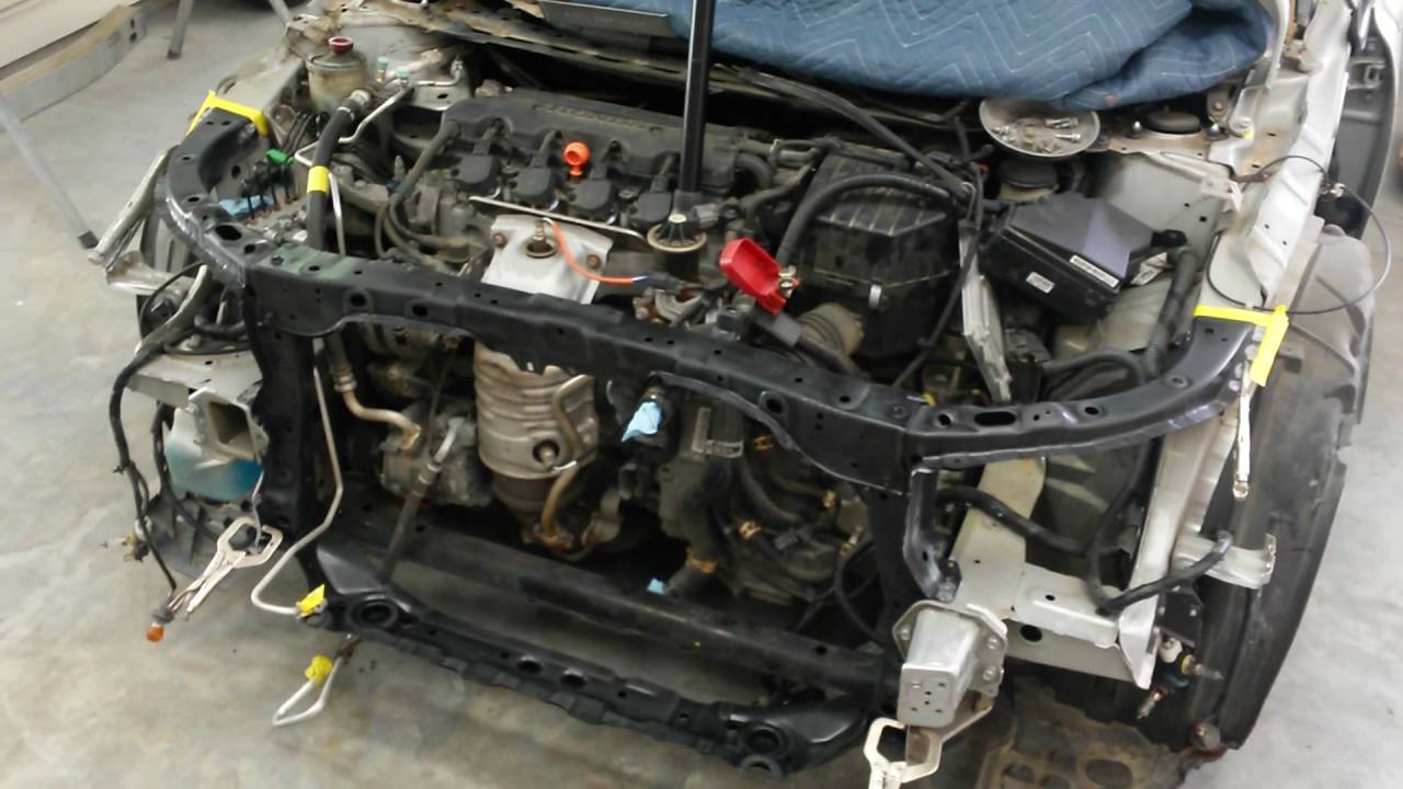 2009 Honda Civic Rebuild How To Replace A Radiator