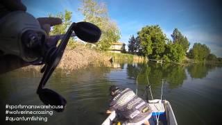 Utah Bass Fishing - Salem Pond