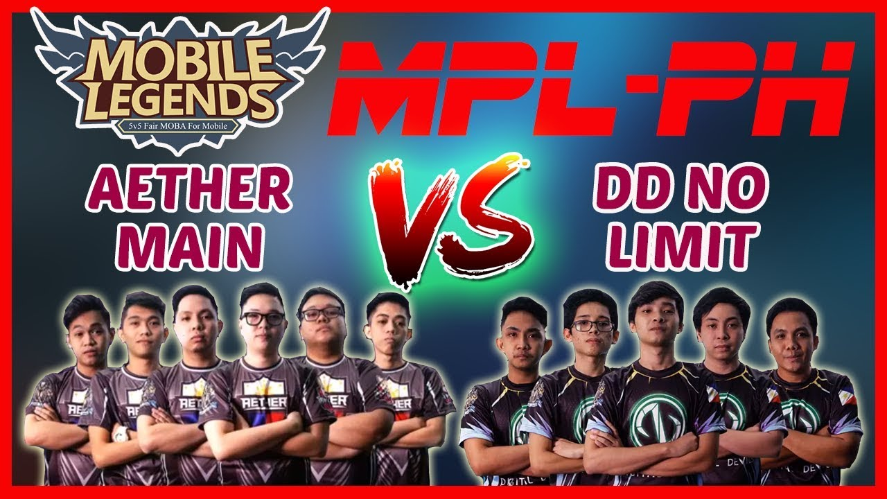 aether main vs dd no limit game1 mpl ph week4 day2