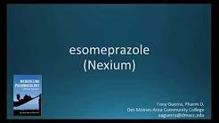 How to pronounce esomeprazole (Nexium) (Memorizing Pharmacology Flashcard)