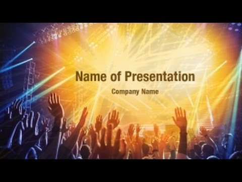 Rock concert powerpoint video template backgrounds rock concert powerpoint video template backgrounds digitalofficepro 01212v toneelgroepblik Gallery