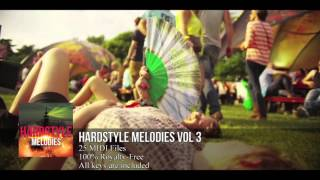 FL Studio 11: Hardstyle Melody Pack #3 (HD) (25 MIDI Files)