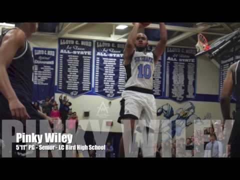 Pinky Wiley  - 5'11'' PG - LC Bird - 5A State Player of the Year