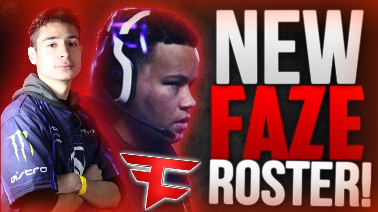 new faze clan roster faze clan new roster faze competitive new