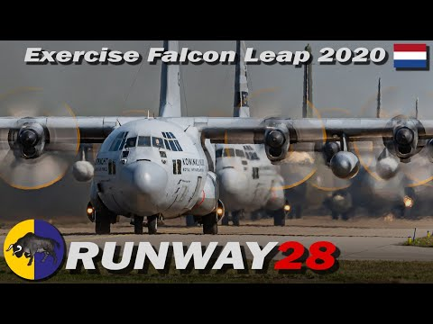 Falcon Leap 2020; Mission Launch Eindhoven Air Base