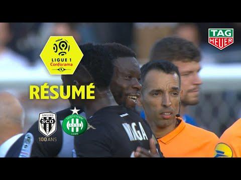 Angers SCO - AS Saint-Etienne ( 4-1 ) - Résumé - (SCO - ASSE) / 2019-20