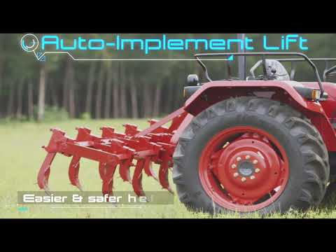 India's first driverless tractor technology by Mahindra.