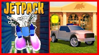 JETPACK ET NEW VEHICLES dans JAILBREAK SEASON 3 - Roblox