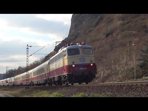 E10 1309 mit Rheingold im Rheintal | Trans Europ Express (HD)