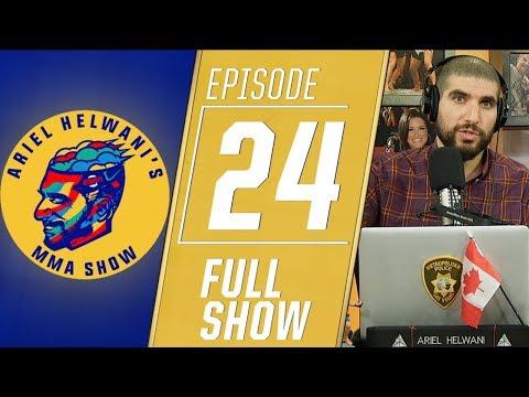 Brian Ortega, Max Holloway, Chris Weidman   Ariel Helwani's MMA Show [Episode 24 - Dec. 3, 2018]