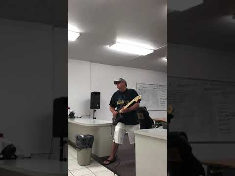 Guitar Jam by Jim Woods - Improvised - Guitar Riffs