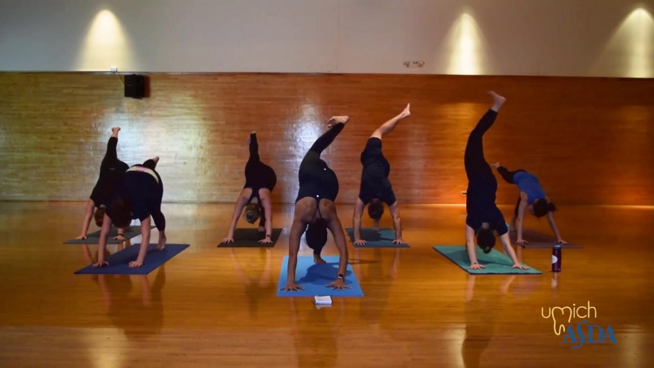 UMich ASDA Yoga Session