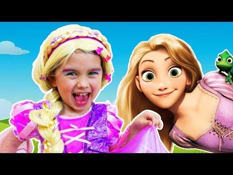 Рапунцель собирается на бал | Джин и Фея Динь-Динь выбирают наряд для принцессы | Дисней мультик