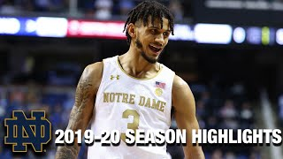 Prentiss Hubb  2019-20 Season Highlights | Notre Dame Guard