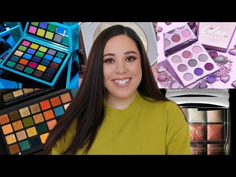NEW EYESHADOW PALETTES & HOLIDAY MAKEUP 2019! PURCHASE OR PASS?