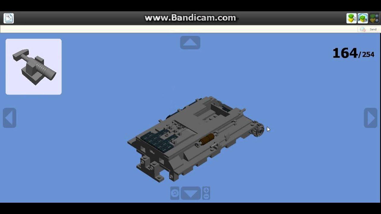танки из лего инструкция по сборке