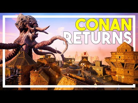 Conan Exiles Gameplay - Part 1: Conan Exiles Full Release!