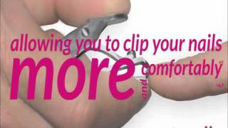 Clip Right Nail Clipper - MaxiAids.com