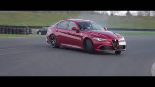 Jazda Alfa Romeo Giulia Quadrifoglio video