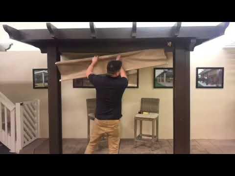 installing coolaroo sunshades wth southern california patios
