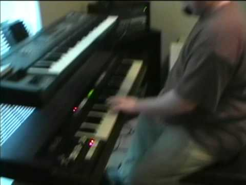 Hammond XK 2 Electronic Organ Demonstration