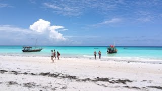 Stunning beaches in Zanzibar
