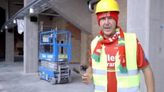 Sebastien Dewaele rondleiding @ Versluys Arena