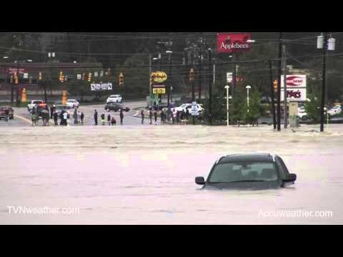 CATASTROPHIC Flash Flood in Columbia, SC!