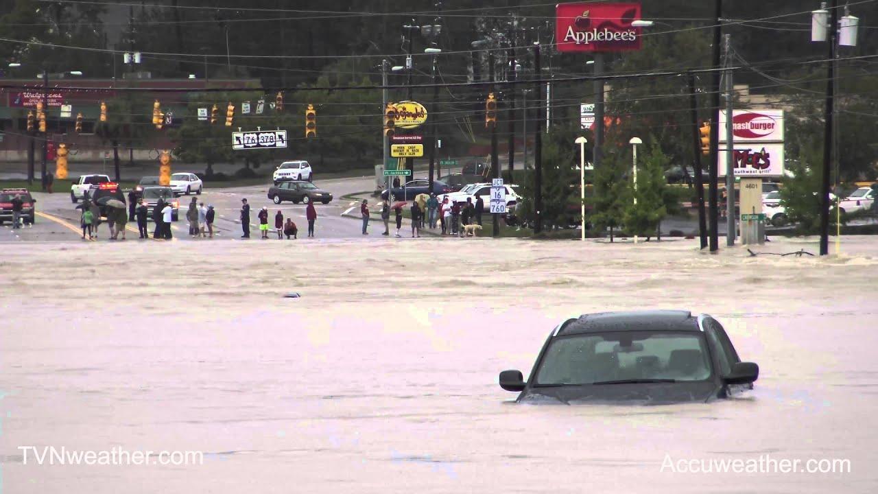 CATASTROPHIC Flash Flood in Columbia SC