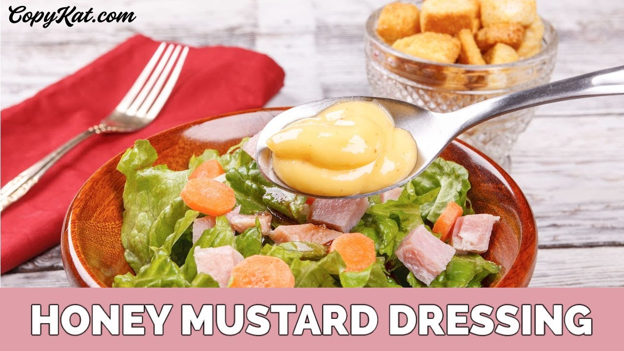 how to make honey mustard