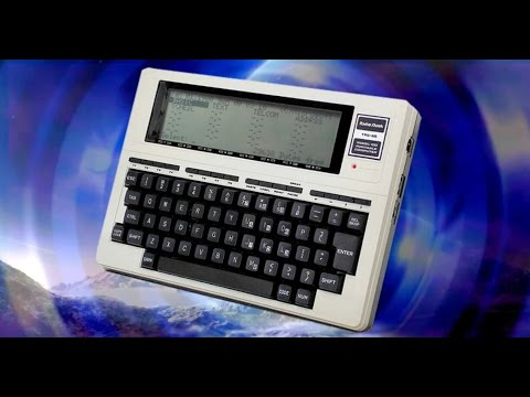Tandy TRS-80 Model 100: Review & Demonstration :o)